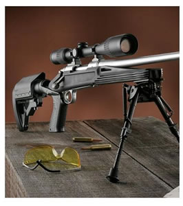 Knoxx Axiom K98200 Rimfire Rifle Stock For Ruger 10/22