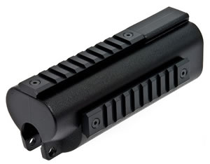 GSG GER202263 Tactical Handguard Accepts Grips/Lights & Lasers For GSG-5