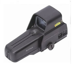 Eotech 517A65 Black Holographic Weapons Sight w/1 MOA Dot