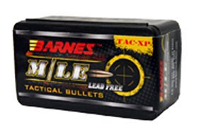 Barnes Bullets 45106, Tactical Pistol X Bullet, 45 Automatic Colt Pistol (ACP) Caliber, 160 GR, 40 Per Box (Not Loaded)