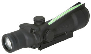 Trijicon ACOG Sight TA11JG, 3.5x, 35mm, Matte Black, Illuminated Dual Reticle, w/$50 Coupon For Future Order