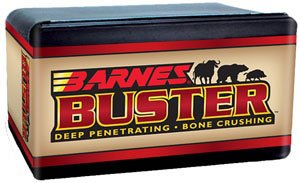 Barnes Bullets 42982, Flat Nose Flat Base, 458 Caliber, 300 gr, 50 Per Box (Not Loaded)