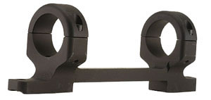 DNZ 30700 Remington Model 700 Long Action Ring/Base Combo, Medium 30mm, Black