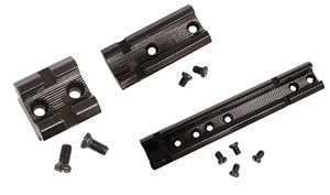 Weaver 48454 Matte Black Top Mount Base For 2007 & Later Remington 1187/870