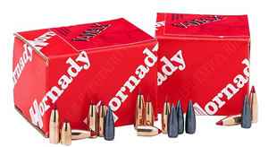Hornady Bullets 3721, Dangerous Game Expanding, .375 Caliber, 300 gr, 50 Per Box (Not Loaded)