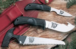 Outdoor Edge Kodi Pak 3 Piece Fixed Knife Set w/Kraton Handles KP1C