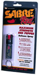 Security Equipment Pepper Spray w/Keychain .54 Oz KR14US
