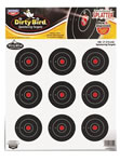 Birchwood Casey 35309 3 in Dirty Bird Targets 12 Pack