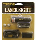 BSA LS650 Laser Scope w/Mounts