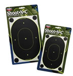 Birchwood Casey 34710 Shoot-N-C 7 in Oval Silhouette Targets 10 Pack