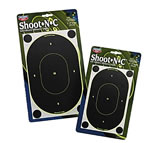 Birchwood Casey 34905 Shoot-N-C 9 in Oval Silhouette Target 5 Pack