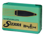 Sierra 1502 BlitzKing Spitzer 6MM Cal 55 Grain 100/Box, (Not Loaded)