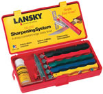 Lansky Deluxe Kit For Sharpening Knives LKCLX
