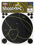 Birchwood Casey 34682 Shoot-N-C Life Size Deer Vital Targets 5 Pack
