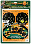 Caldwell 410864 Orange Peel Round Bullseye Targets 10 Sheets