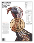 Champion 45780 Lifesize Turkey Practice Target 12 Pack