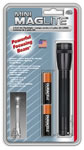 Mag Lite M2A016 Blister Pack Includes 2-Cell AA Flashlight & 2 AA-Cell Batteries