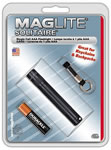 Mag Lite K3A016 Black Flashlight Blister Package