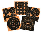 Birchwood Casey 36625 Big Burst 100 Pack 6 in Adhesive Paper Targets