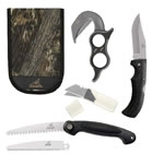 Gerber Ultimate Game Cleaning Kit (Gut Hook w/Replacement Blades/Saw w/2 Blades/Knife) 42759