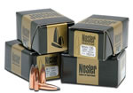 Nosler Bullets 35744, Spitzer, .338 Caliber, 250 gr, 25 Per Box (Not Loaded)