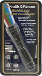 Smith & Wesson SW1222 Galaxy Flashlight w/6 White/2 Red/2 Blue 2/Green LED Bulbs/3AAA Batteries