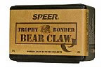 Speer 1790 458 Cal 500 Grain Trophy Bonded Bear Claw 25/Box, (Not Loaded)