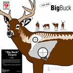 Hoppes CT6 Big Buck Target 5 Pack