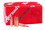 Hornady Bullets 26209, InterBond, .264 Caliber, 129 gr, 100 Per Box (Not Loaded)