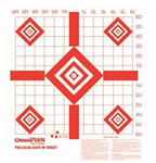 Redfield 47387 Sight In Fluorescent Orange Targets 100 Pack