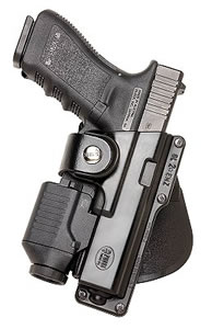 Fobus Tactical Speed Paddle Holster GLT19, For Glock Models 19, 23, 32 with Tactical Light or Laser