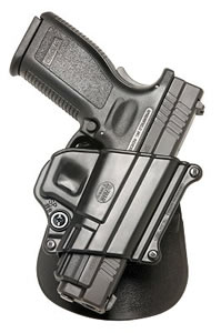 Fobus Standard Paddle Holster SP11B, For Springfield Armory XD