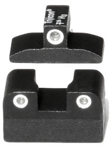 Trijicon Tritium BE10 3 Dot Green Front & Rear Sight For Beretta PX4