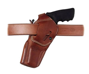 Galco DAO104 Dual Action Outdoorsman Holster For S&W L Frame w/4 in Barrel