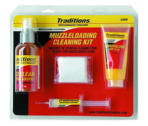 Traditions A3850  Basic Easy Clean Muzzleloader Cleaning System