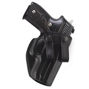 Galco SUM286B Summer Comfort Inside The Pant Holster w/Snap On Design For Glock 26/27, Black