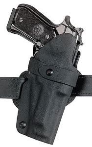 Safariland Fixed Tactical Concealment Holster For Glock 17/22, Model 70183131