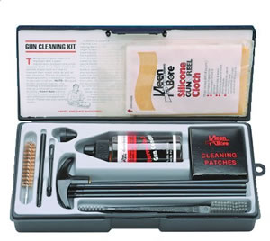 Kleen-Bore K209  41/45 Caliber Rifle Cleaning Kit w/Steel Rod