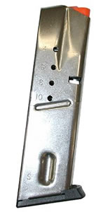 S&W 190550000 10 Round Stainless Magazine For 6906 9MM