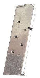 Springfield PI4520 7 Round Stainless Magazine For 1911 45 ACP