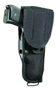 Bianchi Universal Military Holster, Black, Model 14869, For Colt KC, Python; Llama Martial, Com; Ruger GP100; S&W; Taurus 94, 431, 441, 741, 941; 4 in BBL