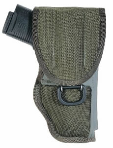 Bianchi Universal Military Holster For Revolvers, Olive Drab, Model 14871, For Colt KC, Python, Trooper MKlll