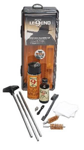 Hoppes UL17 Legends  Universal Rimfire Cleaning Kit w/Plastic Case