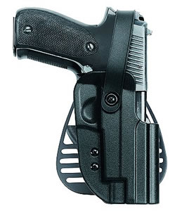 Uncle Mikes Kydex Paddle Holster w/Thmb Brk For Glock Model 17/19/22/23, Model 56211