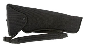 Uncle Mikes Bandolier Holster/14 in -16 in Thompson Center Super Contender, Black, Model 95131