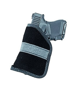 Uncle Mikes Inside The Pocket Holster Fits Most Sub Compact 9MM/40 Autos, Size 4, Model 87444