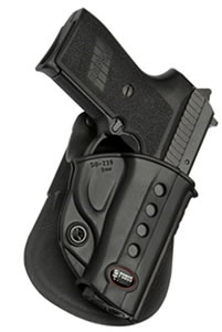 Fobus Roto Evolution Belt Holster R1911RB, For 1911 Style Autos With Rails