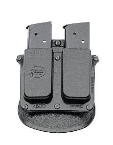 Fobus Roto Double Magazine Pouch w/Adj Paddle 4500RB, For Govt. .45ACP SIG 9mm
