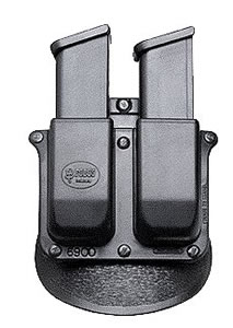 Fobus Roto Double Magazine Pouch w/Adj Paddle 6900RB, For Glock 9mm/40, H & K 9mm/40