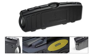 Browning 149001 Single Takedown Gun Case w/Black Textured Finish, 38 in